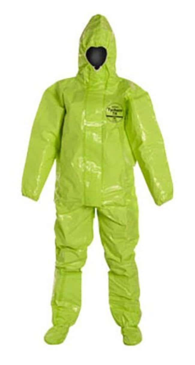 DuPontTychem TK 128T Coveralls Lime yellow; 4X-Large:Gloves, Glasses and