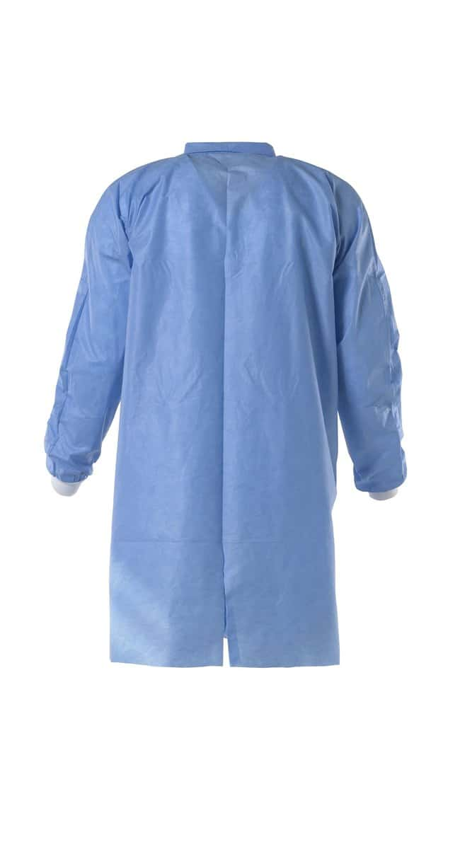 DuPont ProClean 2 Blue Lab Coat, Traditional Collar XL:Gloves, Glasses