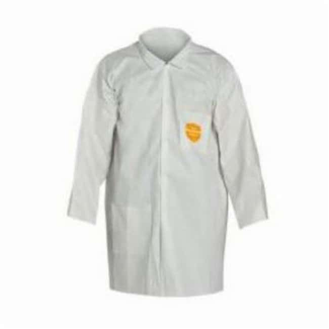DuPont Proshield 10 Basic Disposable Lab Coats White; Size: Medium:Gloves,
