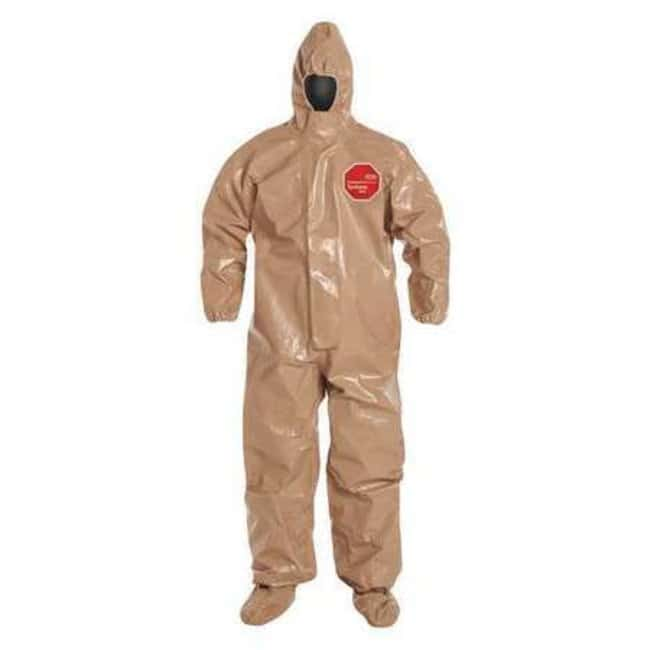 DuPont Tychem 5000 Coveralls with Respirator Fit Hoods, Berry Amendment