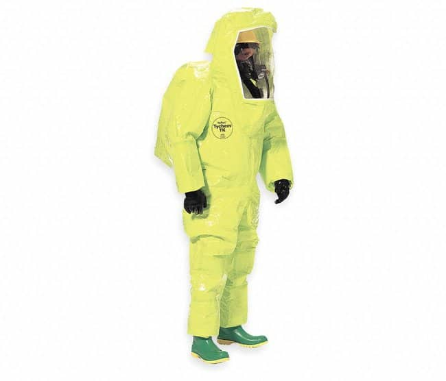 DuPontDuPont™ Tychem™ TK Encapsulated Level A Suit (Rear Entry):Personal