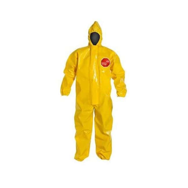 DuPont DuPont Tychem BR Coverall 6X-Large; Chest width: 35.75 in.; Fits