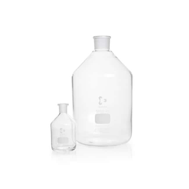 DWK Life Sciences DURAN™ Reagent Bottle, Narrow Neck, Clear, Without Stopper ST 24/29, 500 mL DWK Life Sciences DURAN™ Reagent Bottle, Narrow Neck, Clear, Without Stopper
