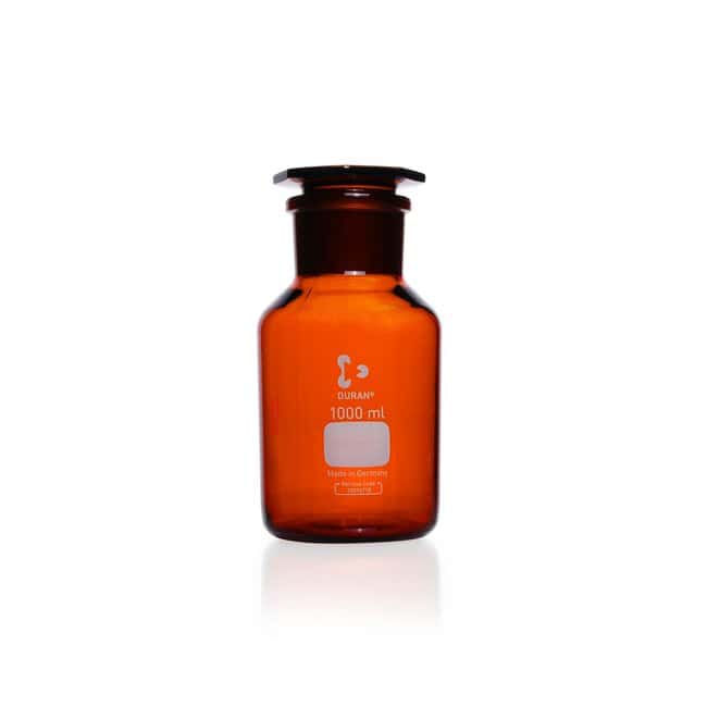DWK Life Sciences DURAN™ Reagent Bottle, Wide Neck, Amber, USP /EP (3.2.1) Light Transmission ST 85/55, 10000 mL DWK Life Sciences DURAN™ Reagent Bottle, Wide Neck, Amber, USP /EP (3.2.1) Light Transmission