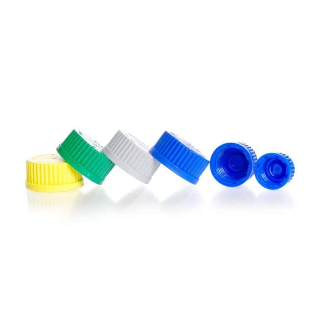 DWK Life Sciences DURAN™ Original Laboratory GL Bottle Screw Cap, Linerless Lip Seal, PP GL 32, Blue Products