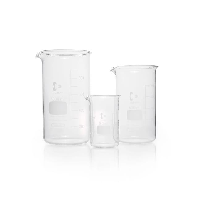 DWK Life SciencesDURAN™ Beaker, high form, with spout 250 mL DWK Life SciencesDURAN™ Beaker, high form, with spout