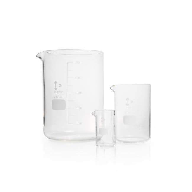 DWK Life SciencesDURAN™ Beaker, heavy-wall (filtering beaker) 2000 mL DWK Life SciencesDURAN™ Beaker, heavy-wall (filtering beaker)