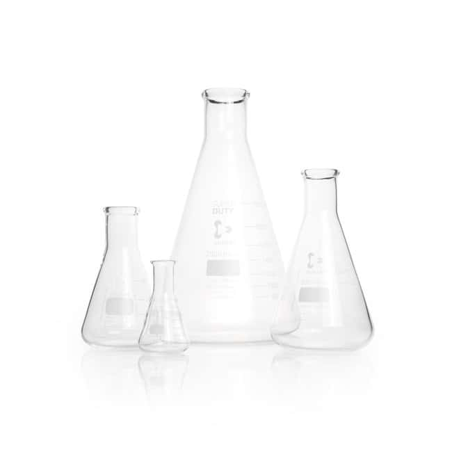 DWK Life Sciences DURAN™ SUPER DUTY Erlenmeyer Flask, narrow neck, with reinforced rim 5000 mL DWK Life Sciences DURAN™ SUPER DUTY Erlenmeyer Flask, narrow neck, with reinforced rim