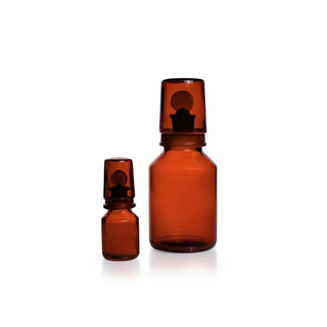 DWK Life Sciences DURAN™ Acid Storage Bottle, Amber, Includes Standard Taper Pennyhead stopper, Complete with ground joint glass cap 500 mL DWK Life Sciences DURAN™ Acid Storage Bottle, Amber, Includes Standard Taper Pennyhead stopper, Complete with ground joint glass cap