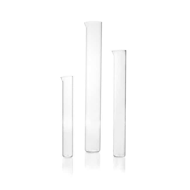 DWK Life SciencesDURAN™ Measuring Cylinder, without base, tall form, with spout, flat bottom, without graduation for 100 mL DWK Life SciencesDURAN™ Measuring Cylinder, without base, tall form, with spout, flat bottom, without graduation
