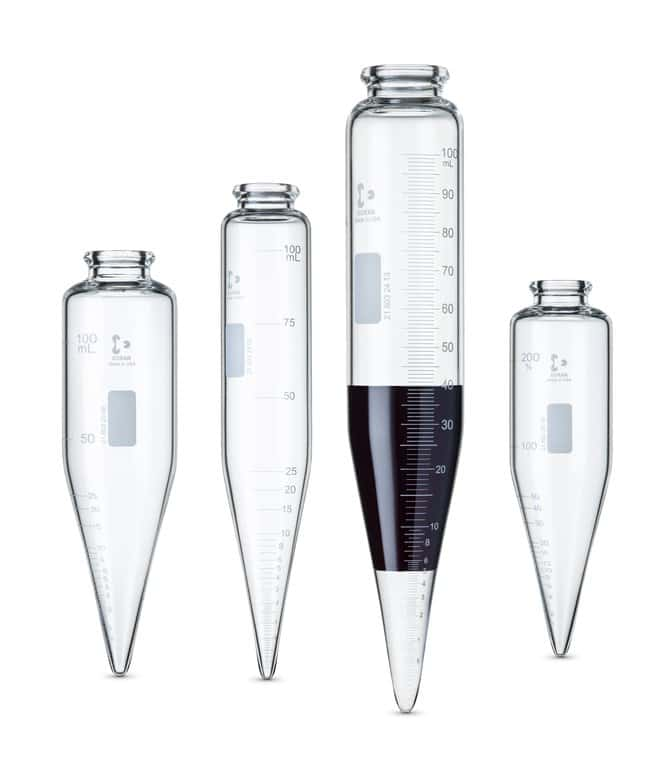 DWK Life Sciences DURAN™ Oil Centrifuge Tubes DURAN™ Oil Centrifuge Tubes; Type: conical, long cone; Graduations: None DWK Life Sciences DURAN™ Oil Centrifuge Tubes