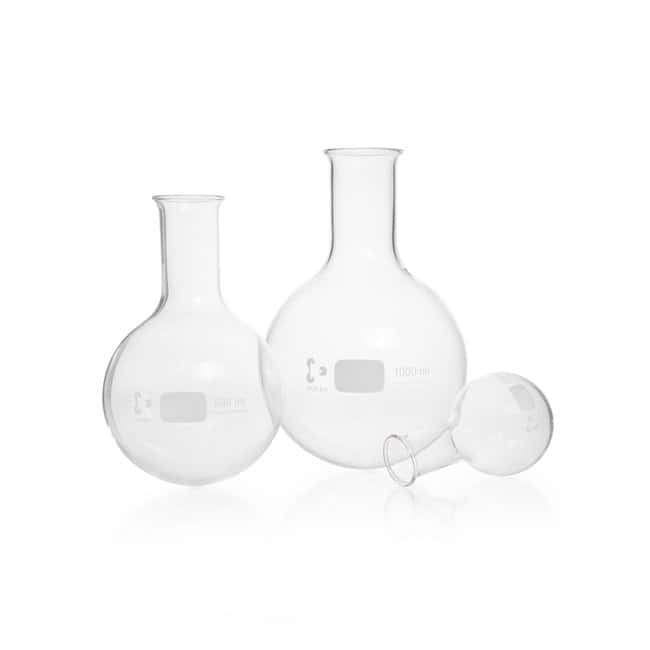 DWK Life Sciences DURAN™ Round Bottom Flask, narrow neck, with beaded rim 1000 mL DWK Life Sciences DURAN™ Round Bottom Flask, narrow neck, with beaded rim