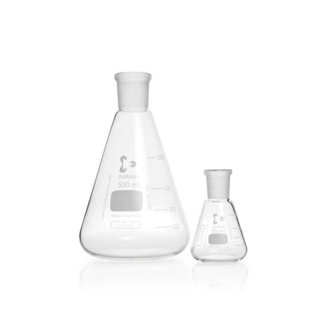 DWK Life Sciences DURAN™ Erlenmeyer Flask, with standard ground joint NS 24/29, 100 mL DWK Life Sciences DURAN™ Erlenmeyer Flask, with standard ground joint