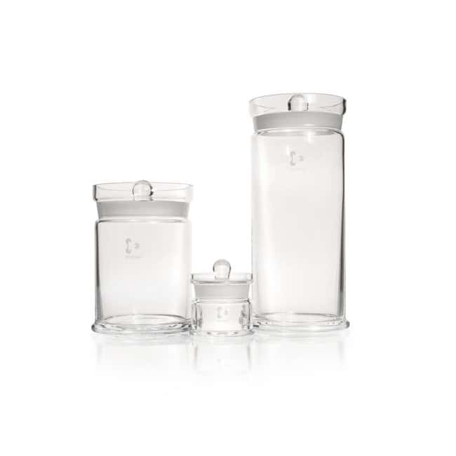 DWK Life Sciences DURAN™ Specimen Jar, with ground, knobbed lid Diameter 115 x 253 mm Products
