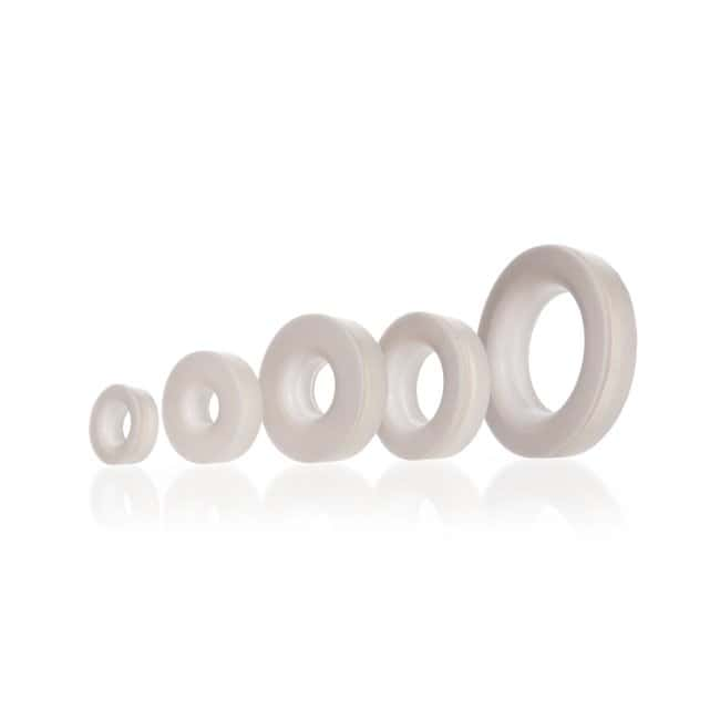 DWK Life Sciences Silicone Sealing Ring, VMQ GL 14, fits tube ID 5.5 to 6.5 mm DWK Life Sciences Silicone Sealing Ring, VMQ