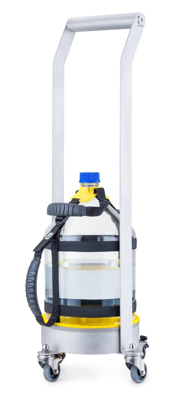 DWK Life SciencesDURAN™ Flaschenbodenschutz, für Transportwagen 10 Liter, Gelb, Silikon For the 10 L metal dolly DWK Life SciencesDURAN™ Flaschenbodenschutz, für Transportwagen 10 Liter, Gelb, Silikon