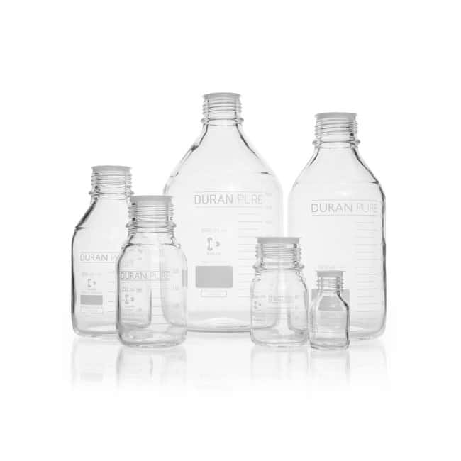 DWK Life Sciences DURAN™ PURE Bottle, with DIN Thread 5000 mL DWK Life Sciences DURAN™ PURE Bottle, with DIN Thread