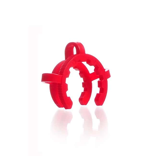 DWK Life SciencesKECK™ Clip, for conical joints, from POM: Metal Clamps for the Laboratory Clamps, Stands and Supports