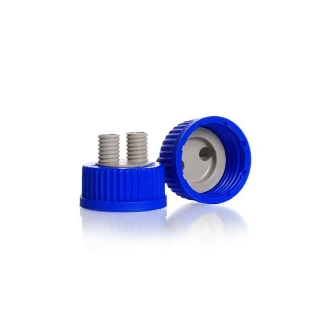 DWK Life SciencesDURAN™ Screw Connection Cap, GL 45, with 2 or 3 GL 14 ports, PP 2 x GL 14 ports Polypropylene Products