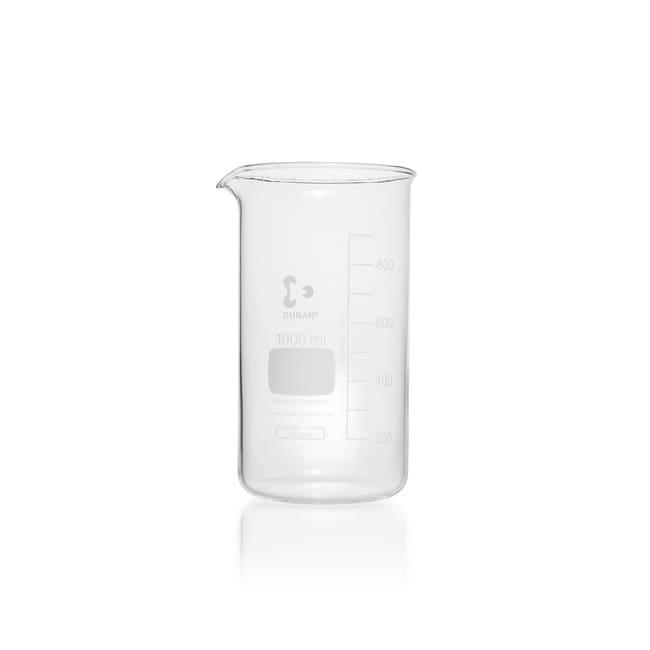DWK Life SciencesDURAN™ Beaker, high form, with spout 1000 mL DWK Life SciencesDURAN™ Beaker, high form, with spout
