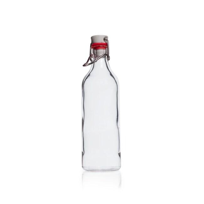 DWK Life SciencesDURAN™ Rolled Flange Bottle, with clamp closure 250 mL DWK Life SciencesDURAN™ Rolled Flange Bottle, with clamp closure