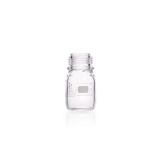 DWK Life SciencesDURAN™ Original Laboratory Bottle, Clear, with DIN 168-1 Thread, Graduated, Bottle Only 100 mL DWK Life SciencesDURAN™ Original Laboratory Bottle, Clear, with DIN 168-1 Thread, Graduated, Bottle Only