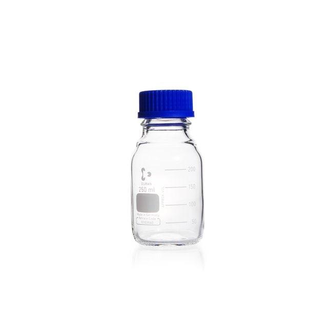 DWK Life SciencesDURAN™ Original Laboratory Bottle, Clear, with DIN 168-1 Thread, Graduated 250 mL DWK Life SciencesDURAN™ Original Laboratory Bottle, Clear, with DIN 168-1 Thread, Graduated