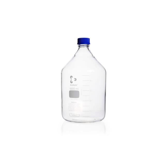 DWK Life SciencesDURAN™ Original Laboratory Bottle, Clear, with DIN 168-1 Thread, Graduated 5000 mL DWK Life SciencesDURAN™ Original Laboratory Bottle, Clear, with DIN 168-1 Thread, Graduated