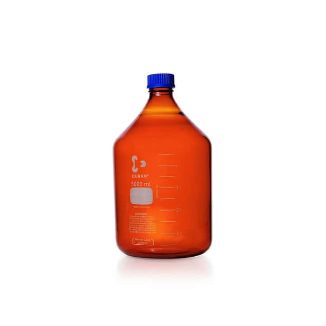 DWK Life SciencesDURAN™ Original Laboratory Bottle, Amber, with DIN 168-1 Thread, USP / EP (3.2.1) Light Transmission, Graduated: Bottles Bottles, Jars and Jugs