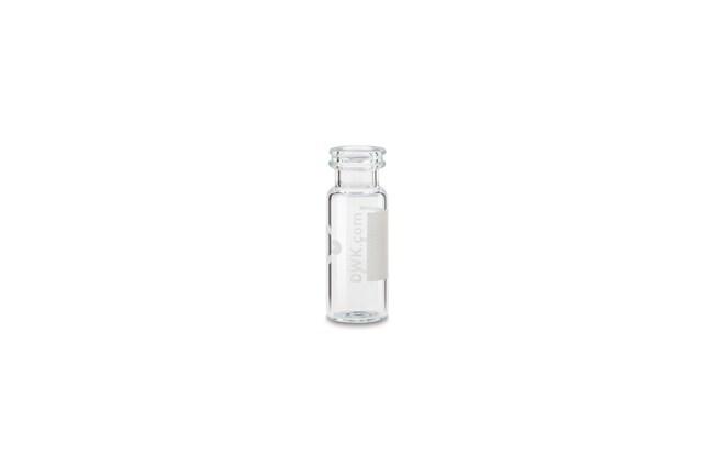 DWK Life SciencesFiole à bague à pression, 12 x 32 mm, ND11 Transparent avec étiquette DWK Life SciencesFiole à bague à pression, 12 x 32 mm, ND11