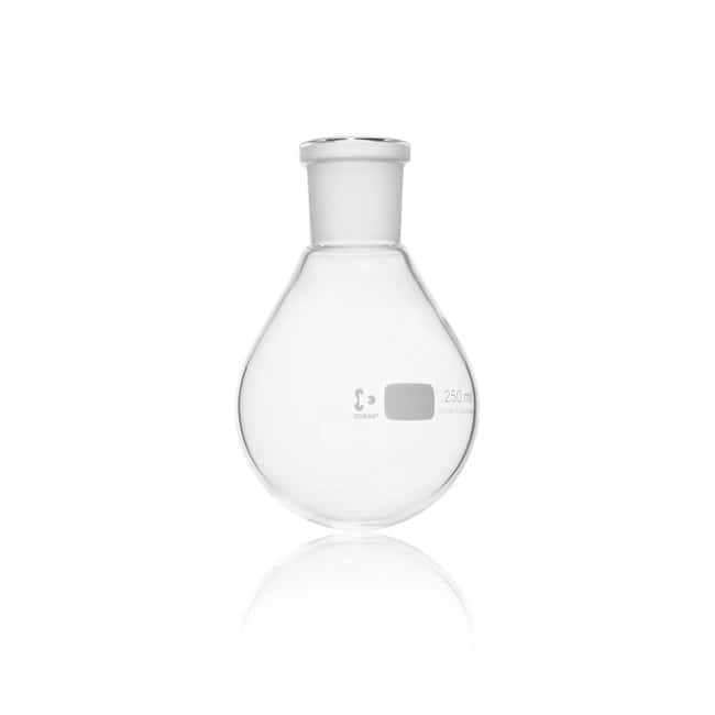 DWK Life Sciences DURAN™ Evaporating Flask, with standard ground joint, pear shape 250 mL DWK Life Sciences DURAN™ Evaporating Flask, with standard ground joint, pear shape