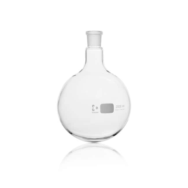 DWK Life SciencesDURAN™ Round Bottom Flask, with standard ground joint: Laboratory Flasks Dishes, Plates and Flasks