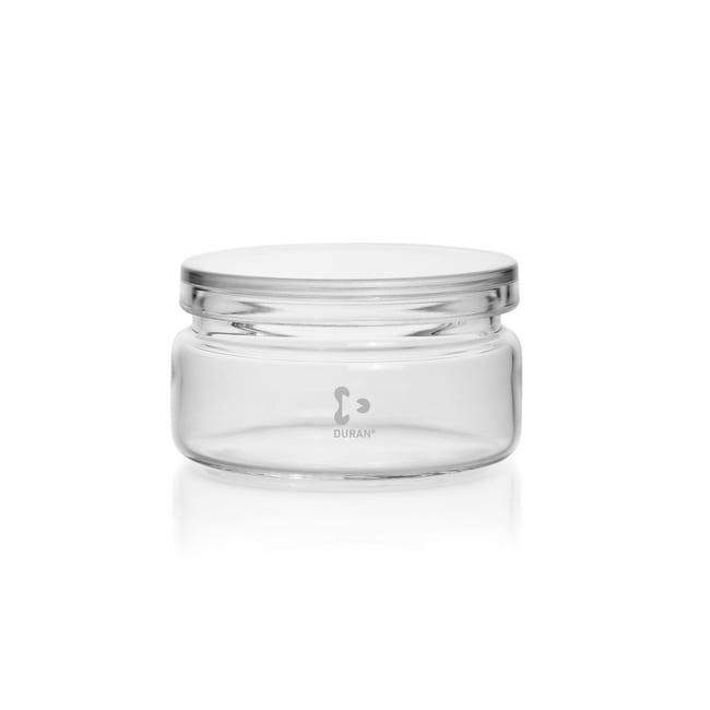 DWK Life SciencesDURAN™ Jar, with shoulder and lid Diameter 103 x 55 mm DWK Life SciencesDURAN™ Jar, with shoulder and lid