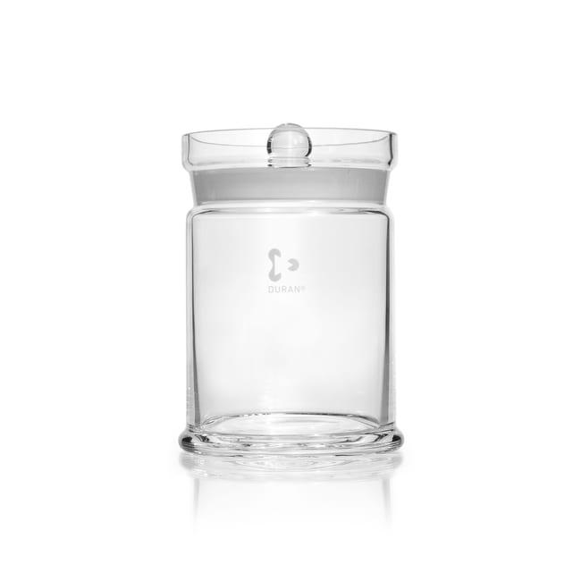 DWK Life SciencesDURAN™ Specimen Jar, with ground, knobbed lid Diameter 115 x 153 mm Products