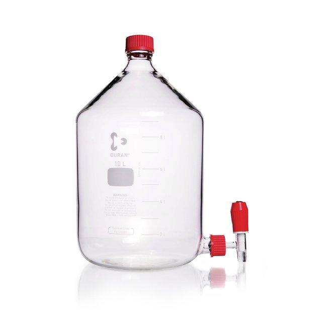 DWK Life SciencesDURAN™ Aspirator Laboratory Bottle, GL 45 Thread Neck, GL 32 Thread Side Arm 10000 mL DWK Life SciencesDURAN™ Aspirator Laboratory Bottle, GL 45 Thread Neck, GL 32 Thread Side Arm