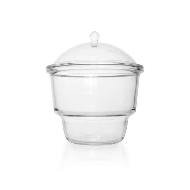 DWK Life Sciences DURAN™ Desiccator, with flat flange, no connection, with knobbed lid DN 300 DWK Life Sciences DURAN™ Desiccator, with flat flange, no connection, with knobbed lid