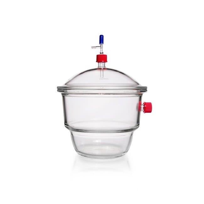 DWK Life SciencesDURAN™ Vakuum-Exsikkator-Set, mit Gewindeanschluss, Typ MOBILEX (GL 32), Hahn mit PTFE-Spindel: Exsikkatoren Trocknung und Verdampfung