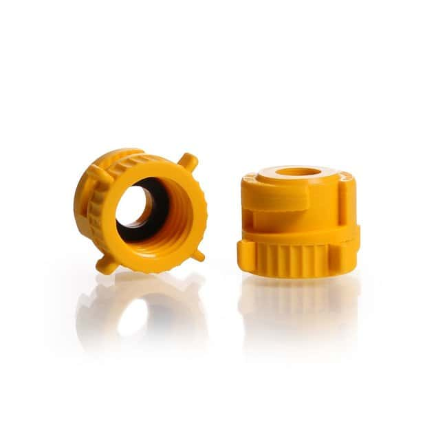 DWK Life SciencesKECK™ Screw Cap for Adapter KA, with flat EPDM sealing 12 mm GL 14 DWK Life SciencesKECK™ Screw Cap for Adapter KA, with flat EPDM sealing 12 mm