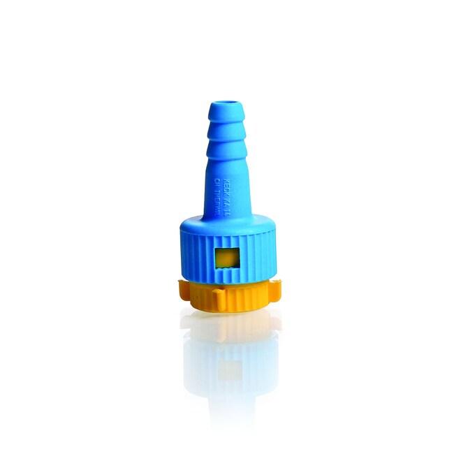 DWK Life SciencesKECK™ Adapter KA, komplett, von Glasgewinde zu Kunststoffolive GL 14, diameter 9.0 mm DWK Life SciencesKECK™ Adapter KA, komplett, von Glasgewinde zu Kunststoffolive