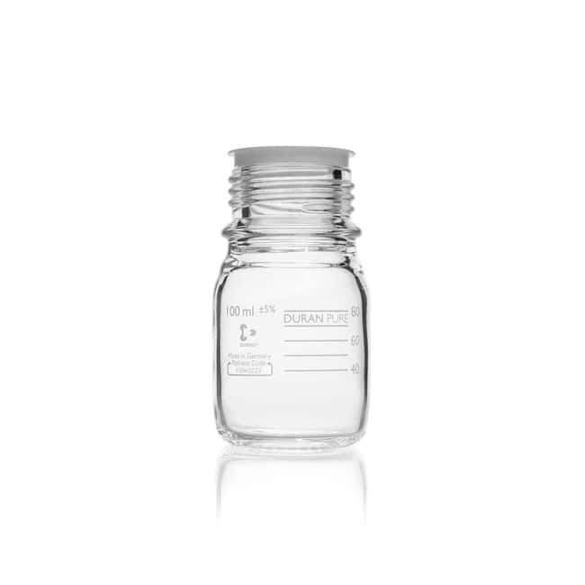 DWK Life Sciences DURAN™ PURE Bottle, with DIN Thread 100 mL DWK Life Sciences DURAN™ PURE Bottle, with DIN Thread