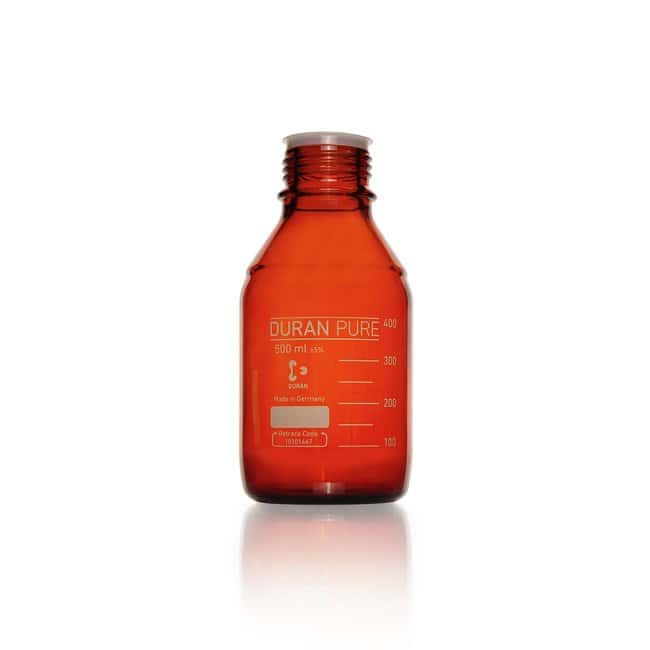 DWK Life Sciences Flacon DURAN™, ambre, avec filetage DIN 500 mL DWK Life Sciences Flacon DURAN™, ambre, avec filetage DIN