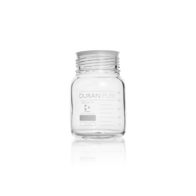 DWK Life SciencesDURAN™ PURE GLS 80™ Bottle, wide mouth 500 mL DWK Life SciencesDURAN™ PURE GLS 80™ Bottle, wide mouth