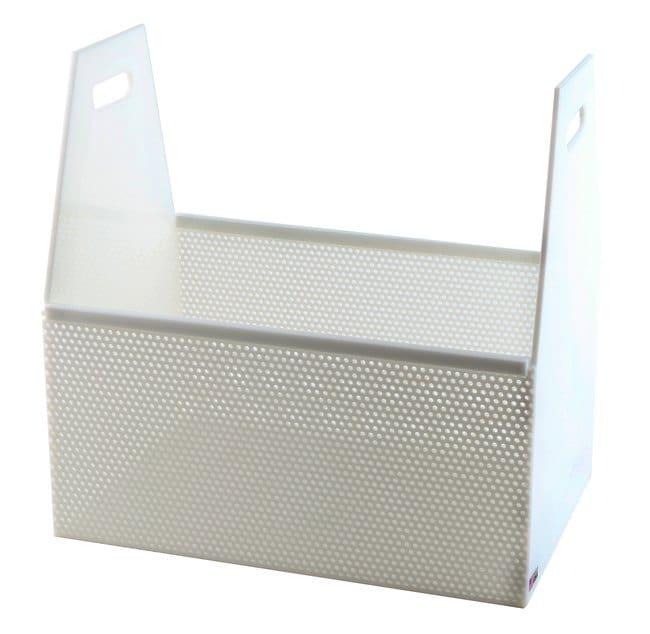 FisherbrandRectangular HDPE Dipping Baskets:Racks:Labware Baskets