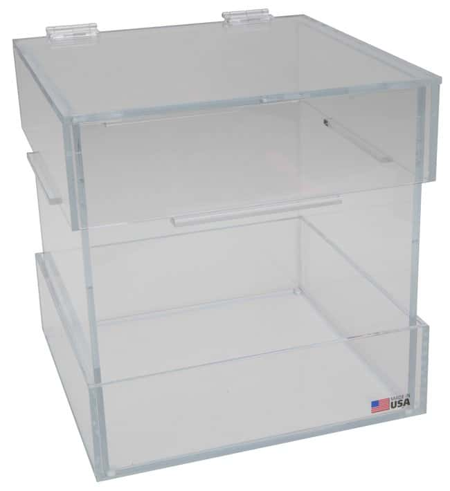 Fisherbrand Acrylic Box Holders for Glass-Disposal Boxes  Benchtop model:Racks,