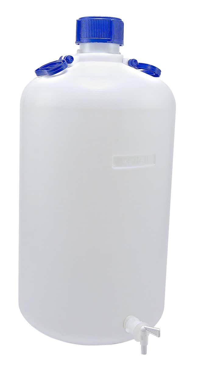 DynalonHDPE, Heavy Walled Carboy with Spigot 50 L:Carboys