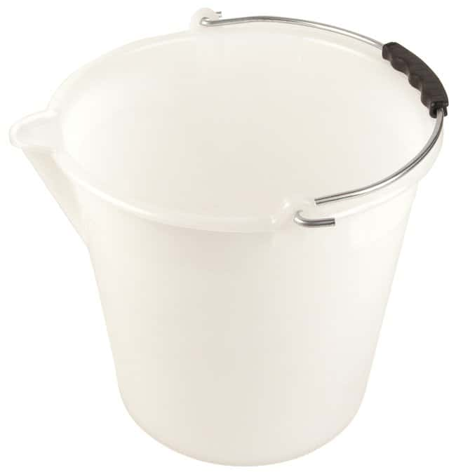 Dynalon Kartell Bucket with Graduations and Spout  9L; O.D. x H: 9.84 x