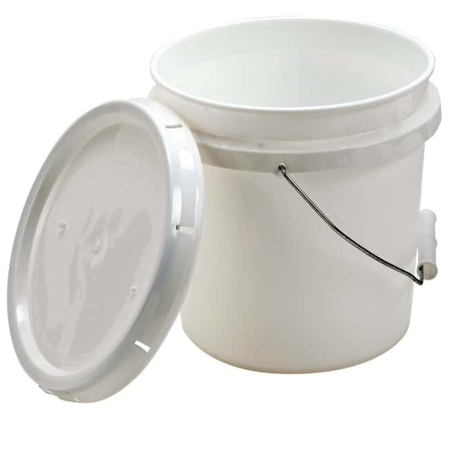 Dynalon Plastic Utility Pail  5L:Teaching Supplies