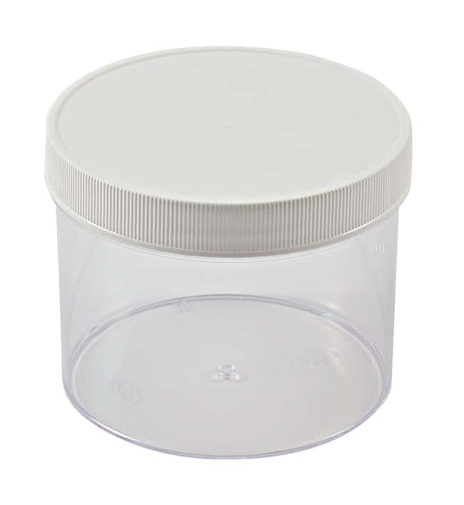 Dynalon™ Straight-Sided Polystyrene Jars