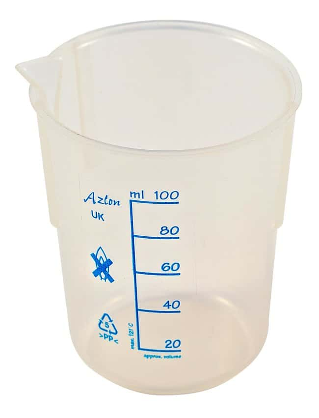 Fisherbrand™ Low-Form Polypropylene Beakers