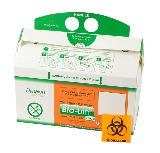 Dynalon Bio-Bin Waste Disposal Containers:Gloves, Glasses and Safety:Hazardous